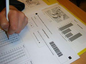 formulario, examen, evaluación, lápiz, alumno,