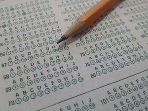 evaluación, test