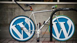 wordpress logo ruedas bicilceta