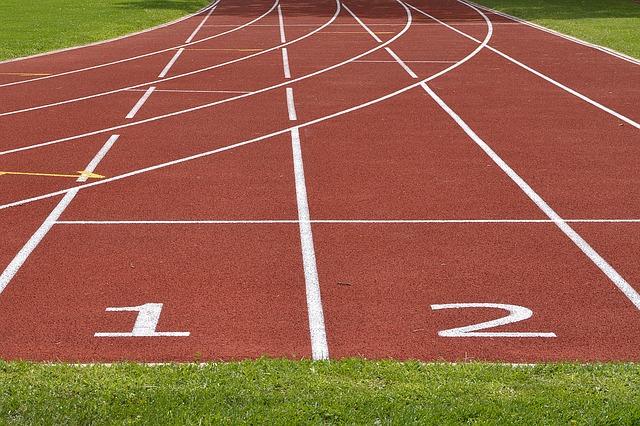 pista atletismo salida